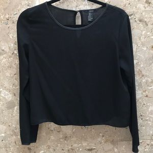Forever21 black blouse